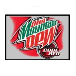 Mountain Dew - Diet Code Red Soda 0001200081011  / UPC 001200081011