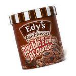 Edy's -  Fun Flavors Ice Cream Double Fudge Brownie 0004154807485