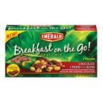 Emerald -  Breakfast On The Go Chocolate Cherry Blend Trail Mix 0010300064091