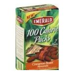 Emerald -  Cinnamon Roast Almonds 100 Calorie Pack Packages Pack 0010300303954