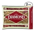 Diamond -  Baking Nuts Almonds Whole Bags 0010300344018