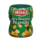 Emerald -  Nuts Dry Roasted Peanuts Canisters 0010300833499