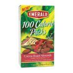 Emerald -  100 Calorie Pack Dark Chocolate Cocoa Roast Almonds Packs Box 0010300843252