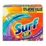 Surf - Laundry Detergent 0011111422810  / UPC 011111422810