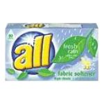 All - Dryer Sheets 120 sheets 0011111681286  / UPC 011111681286