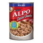 Alpo - Dog Food Classic Chunky With Beef 0011132000356  / UPC 011132000356