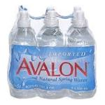 Avalon -  Water Natural Spring Imported 0011314104667