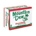 Mountain Dew - Throwback Soda 0012000032462  / UPC 012000032462