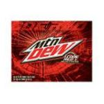 Mountain Dew - Soda Code Red 0012000100468  / UPC 012000100468