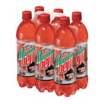 Mountain Dew - Diet Code Red Soda 0012000102141  / UPC 012000102141