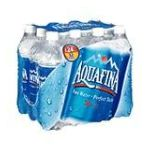 Aquafina - Drinking Water - Water 0012000204463  / UPC 012000204463