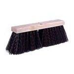 Weiler -  Weiler 804-42033 16 Inch Street Broom W-Synthetic Fill 0012382420338