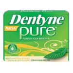 Dentyne -  Pure Sugar Free Chewing Gum Mint With Melon Accents 10 Packs 90 piece 0012546032360
