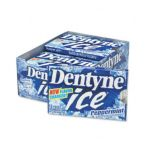 Dentyne -  Ice Peppermint Sugarless Chewing Gum 12-piece Packages 0012546097024