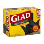 Glad -  Large Trash Bags Quick-tie 0012587600351