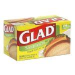 Glad -  Sandwich Bags 250 bags 0012587700426