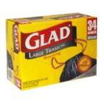 Glad -  Large Trash Bags 0012587702932
