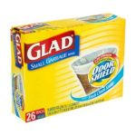 Glad -  Small Garbage Bags 0012587703182