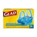 Glad -  Glad Tall Kit Recyc Blu Size 9x26 Ct 0012587782620