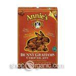Annie's - Bunny Grahams Chocolate 0013562000173  / UPC 013562000173