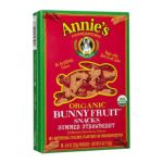 Annie's -  Organic Bunny Fruit Snacks Summer Strawberry 0013562111077
