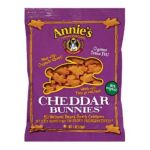 Annie's -  Baked Snack Crackers Real Cheddar Bunnies 0013562302185