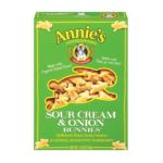 Annie's -  Baked Snack Crackers Sour Cream & Onion Bunnies 0013562302215