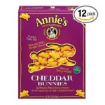 Annie's -  Cheddar Bunnies Baked Snack Crackers Original Boxes 0013562302253