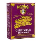 Annie's -  Cheddar Bunnies All-natural Baked Snack Crackers 0013562302277