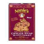 Annie's - Annie's Homegrown Ginger Snap Gluten Free Cookies 0013562320202  / UPC 013562320202