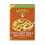 Annie's - Cinnamon Roll Bunny O's Cereal 0013562400027  / UPC 013562400027