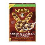 Annie's - Cocoa & Vanilla Bunnies Cereal 0013562400058  / UPC 013562400058
