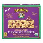 Annie's - Annie's Homegrown Organic Chocolate Chipper Granola Bars Chocolate 0013562460007  / UPC 013562460007