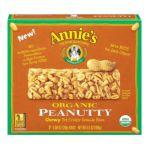 Annie's - Homegrown Organic Peanutty Granola Bars Peanut 0013562460014  / UPC 013562460014