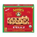 Annie's - Homegrown Organic Granola Bars Organic Pb & J 6.9 0013562460038  / UPC 013562460038