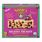 Annie's - Homegrown Organic Granola Bars Organic Berry Berry 0013562610037  / UPC 013562610037