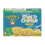 Annie's - 06870 Rice Pasta & Wisconsin Cheddar Mac & Cheese 6x10 0013562610105  / UPC 013562610105