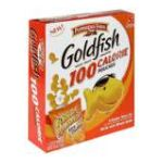 Goldfish -  Baked Snack Crackers Flavor Blasted Xtra Cheddar 100 Calorie Pouches 0014100087489