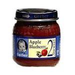 Gerber -  Apple Blueberry 0015000004477