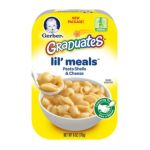 Gerber -  Graduates Lil Meals Pasta Shells With Cheese 0015000005368