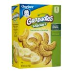 Gerber -  Graduates Cookies Banana 0015000005504