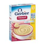 Gerber -  Baby Cereal Single Grain Oatmeal 0015000007027