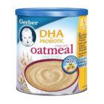 Gerber -  Dha & Probiotic Single Grain Oatmeal Cereal 0015000007454