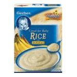 Gerber - Cereal For Ba 0015000008031  / UPC 015000008031