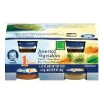 Gerber - Assorted Vegetables 0015000009809  / UPC 015000009809
