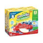 Gerber -  Gerber Graduates Fruit Splashers Apple Berry 0015000012557