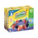 Gerber -  Fruit Splashers Mixed Berry 0015000012564