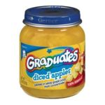 Gerber - Diced Apples 0015000013417  / UPC 015000013417