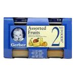 Gerber - Assorted Fruits 0015000014018  / UPC 015000014018
