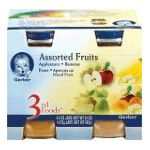 Gerber - Assorted Fruits 0015000027018  / UPC 015000027018